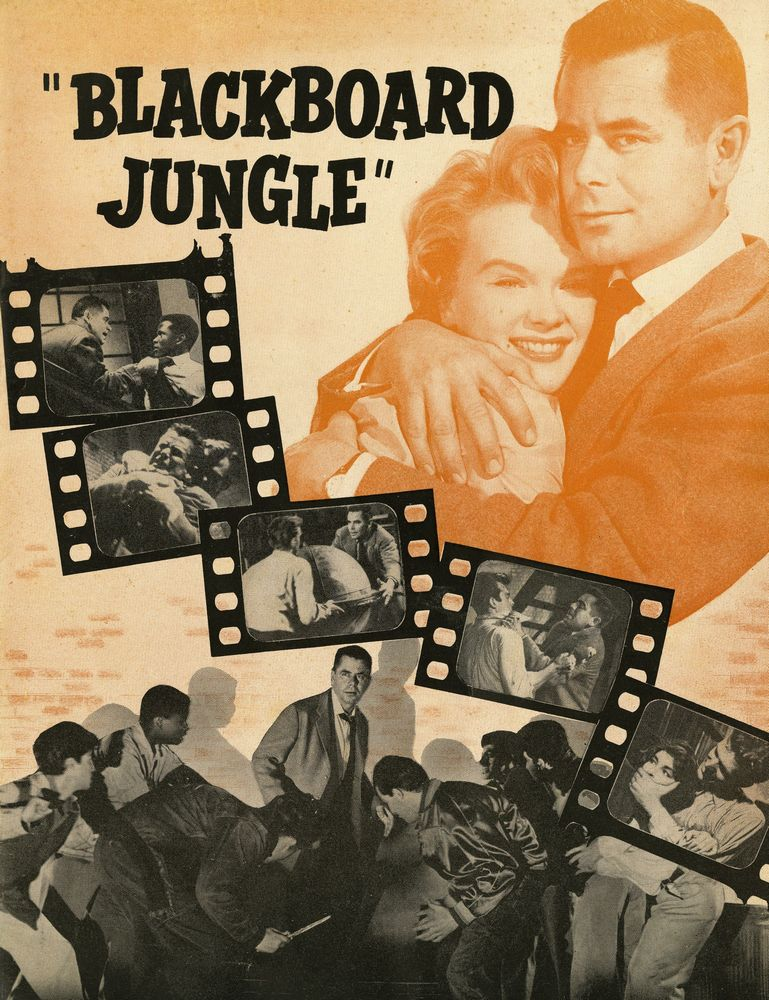 Blackboard Jungle - USA movie program 01
