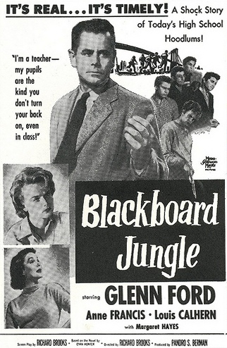 Blackboard Jungle - USA newspaper ad