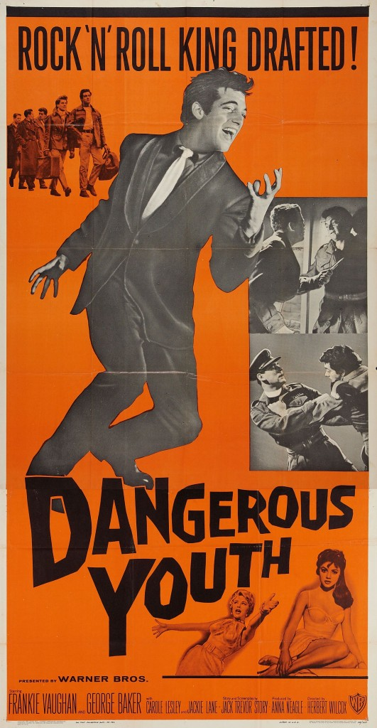 Dangerous Youth - USA 3-sheet