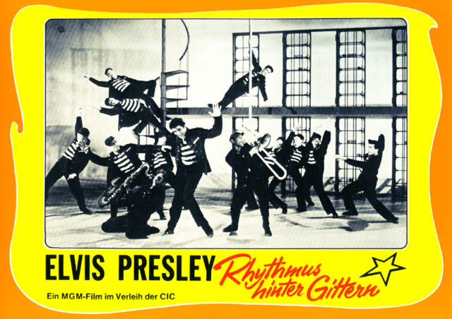 Jailhouse Rock - Germany lobby card 08 (1971)