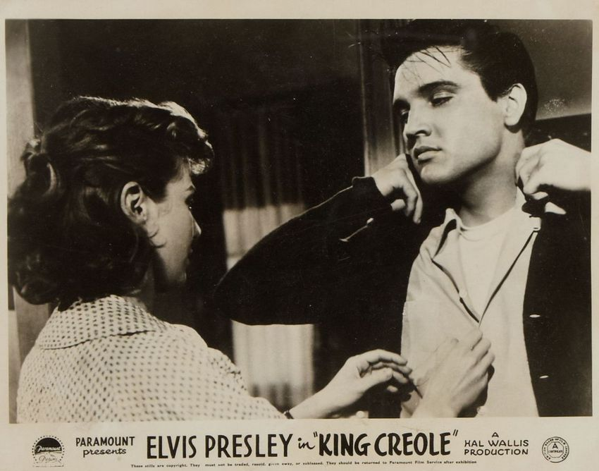 King Creole - UK lobby card 1