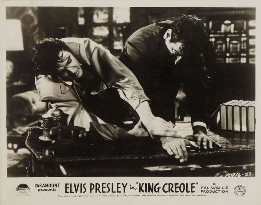 King Creole - UK lobby card 2