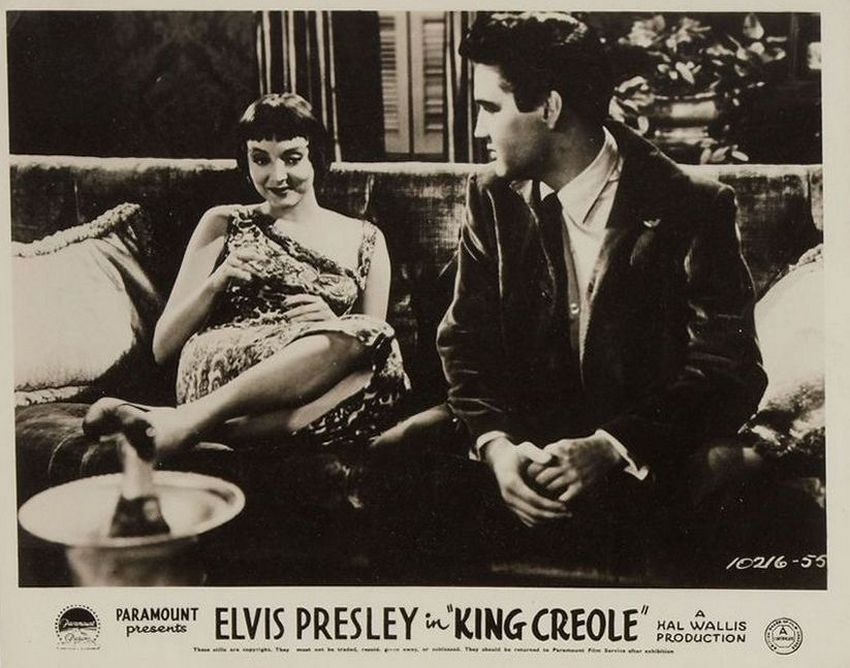 King Creole - UK lobby card 3