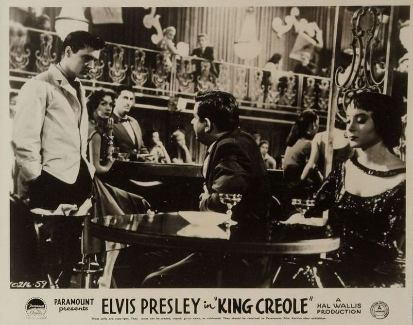 King Creole - UK lobby card 4
