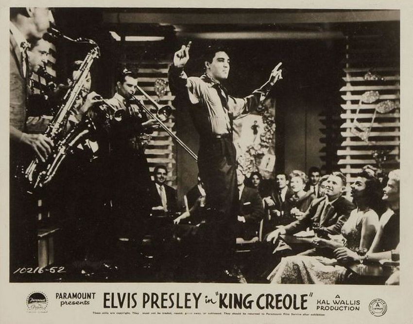 King Creole - UK lobby card 5
