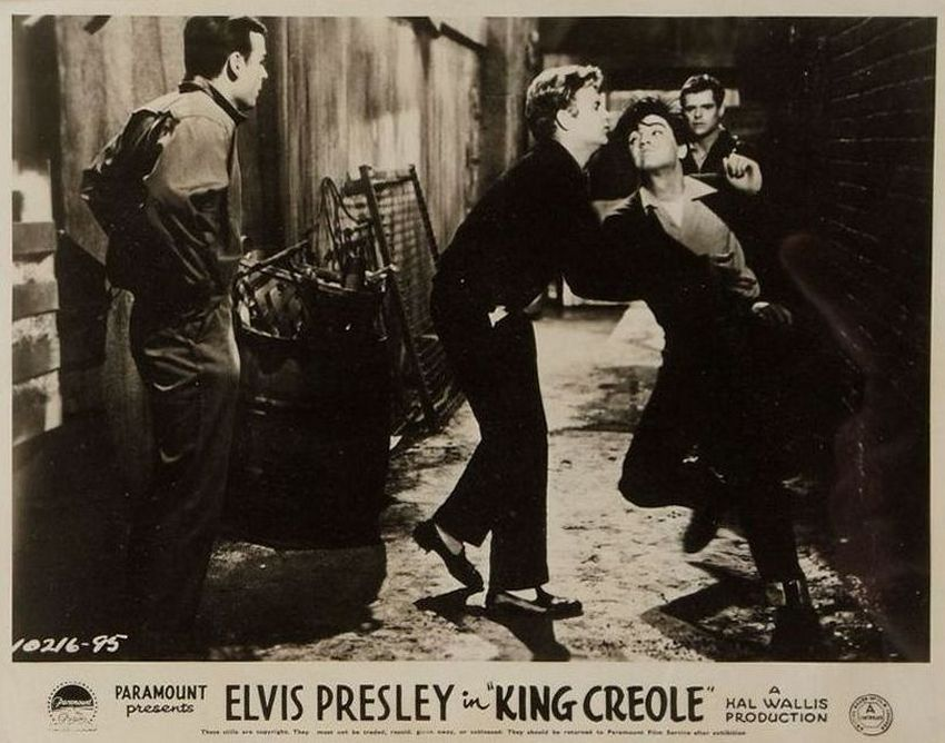 King Creole - UK lobby card 6