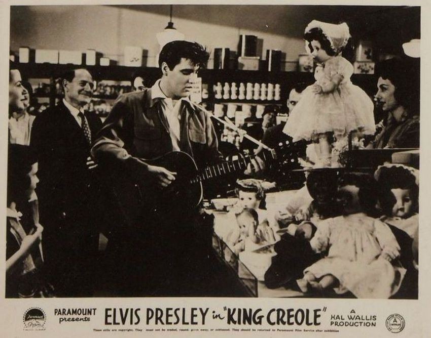 King Creole - UK lobby card 7