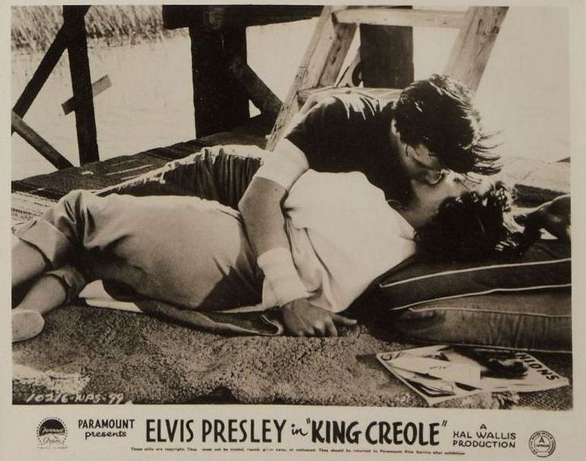King Creole - UK lobby card 8