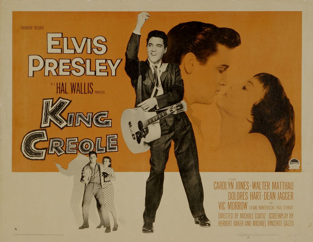 King Creole - USA half-sheet 2