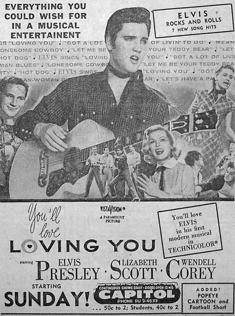 Loving You - USA newspaper ad 3