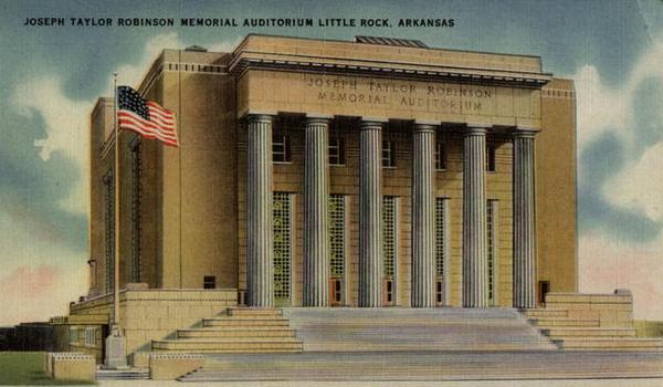 Joseph Taylor Robinson Memorial Auditorium LIttle Rock, AR