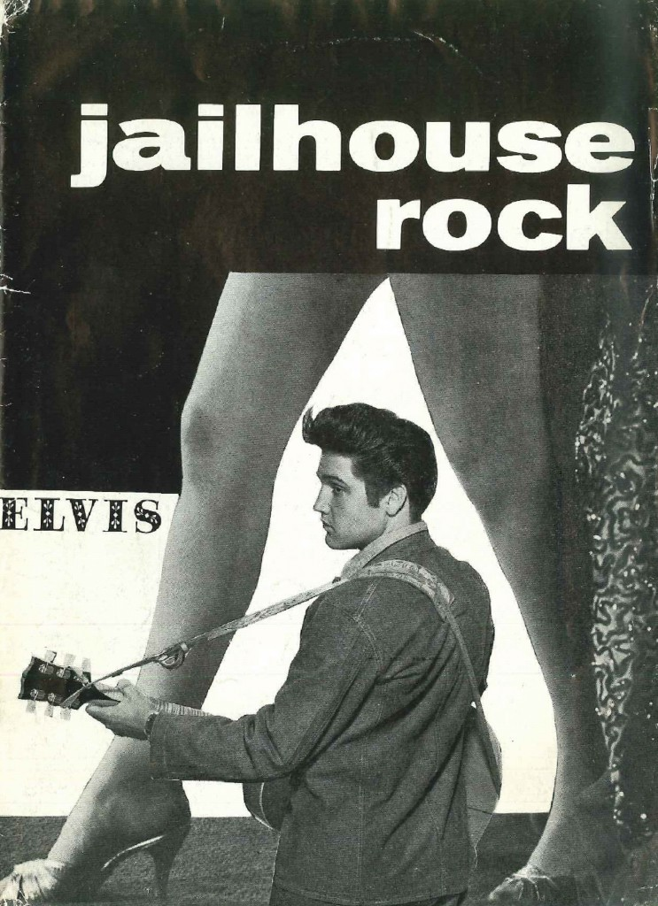 Jailhouse Rock - Denmark movie program (Kurt)
