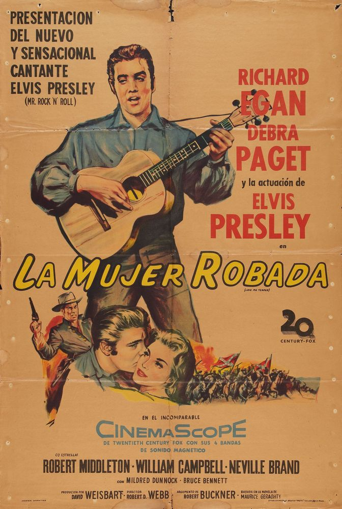 Love Me Tender - Argentina 1-sheet