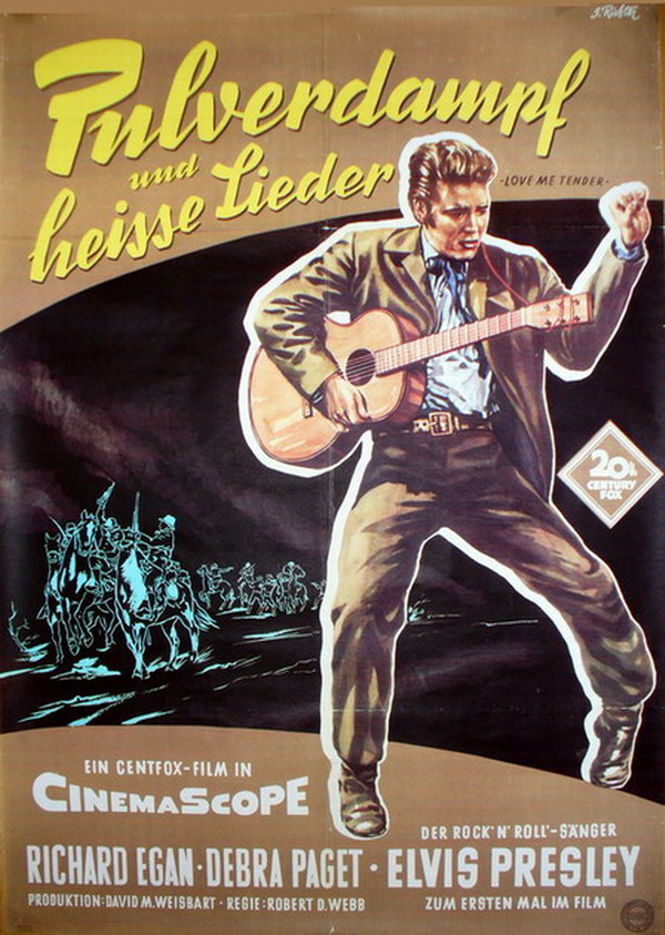 Love Me Tender - Germany poster 1