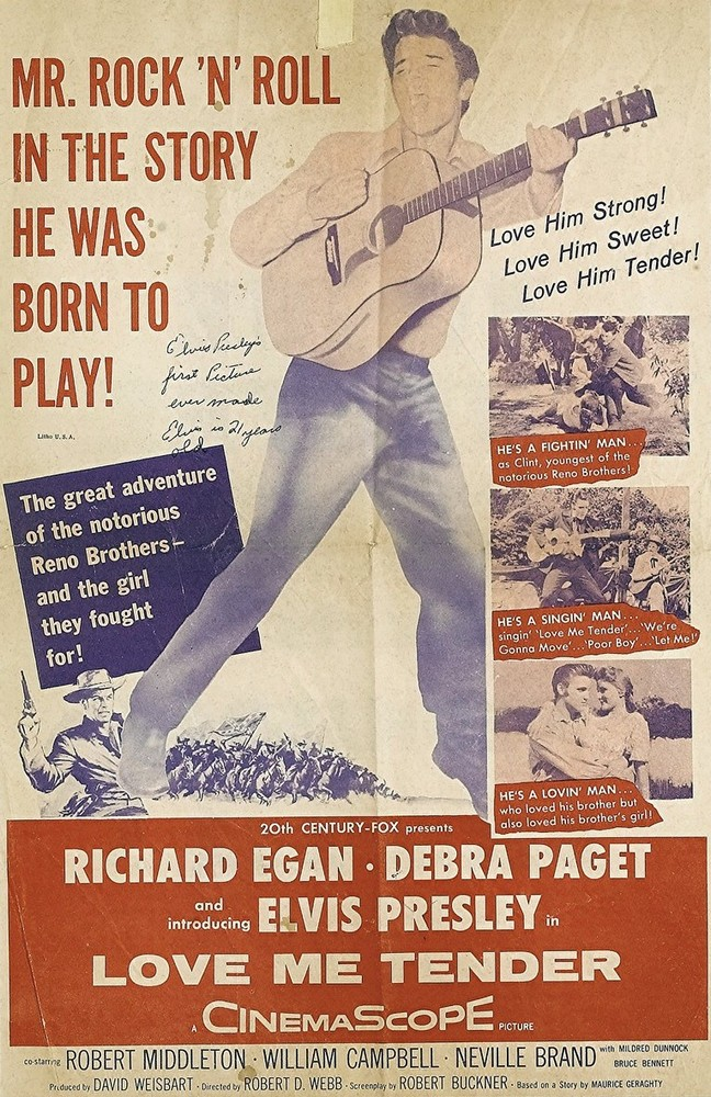 Love Me Tender - USA 1-sheet 1