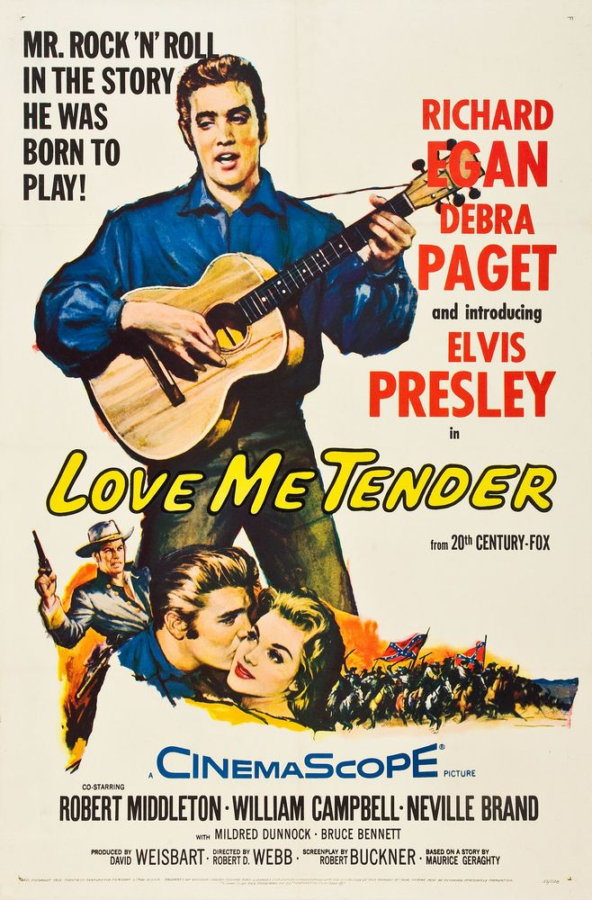 Love Me Tender - USA 1-sheet 2
