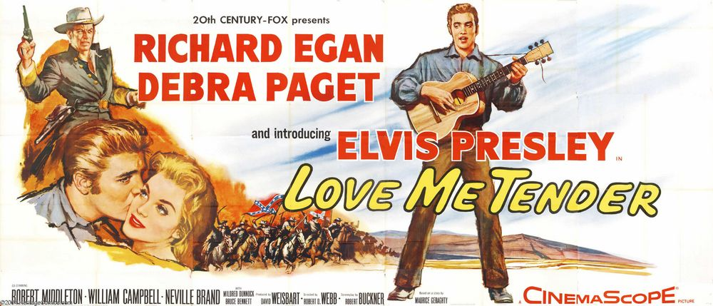 Love Me Tender - USA 24-sheet