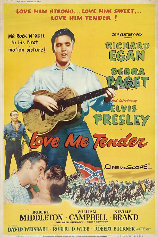 Love Me Tender - USA 40x60