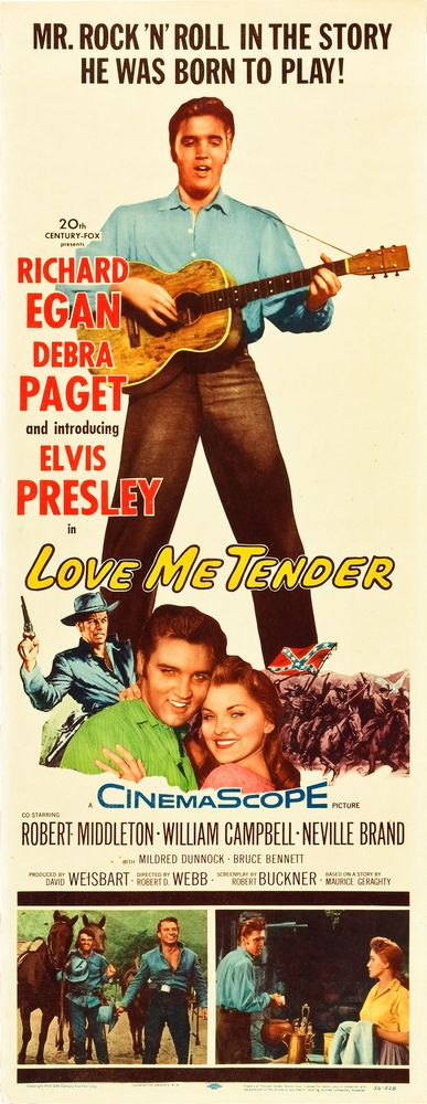 Love Me Tender - USA insert