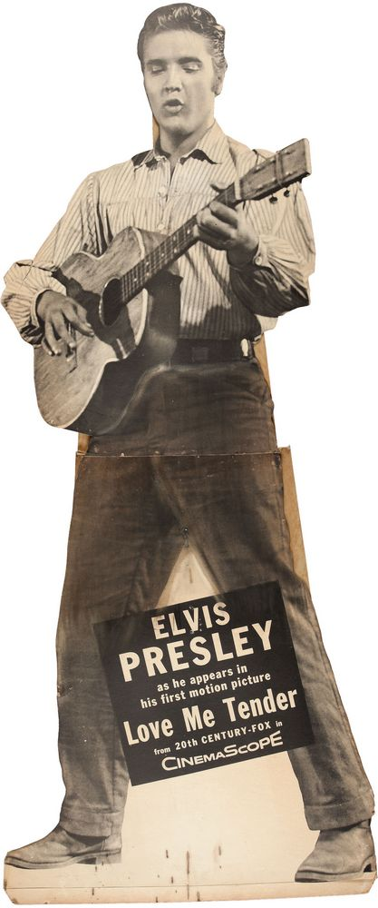 Love Me Tender -USA standee