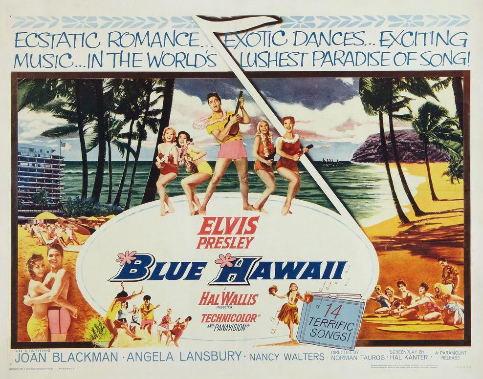 08 Blue Hawaii - USA half-sheet