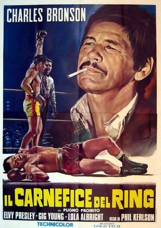 Kid Galahad - Italy 2-sheet (re-release)