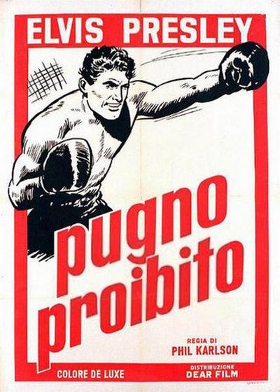 Kid Galahad - Italy poster