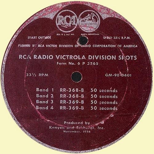 RCA Victrola Spots Promo