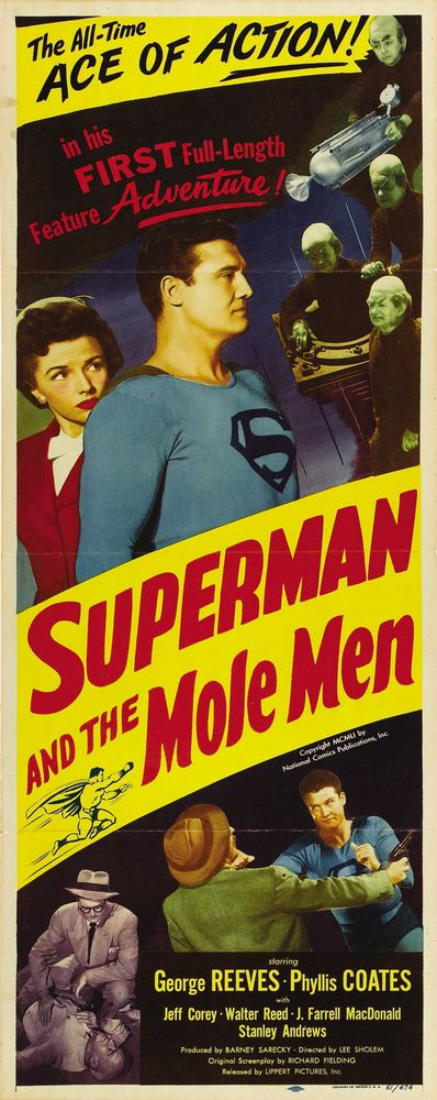 Superman And The Mole Men (1951) USA insert