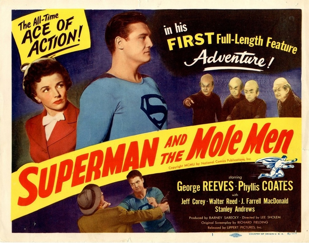 Superman And The Mole Men (1951) USA lobby card 01