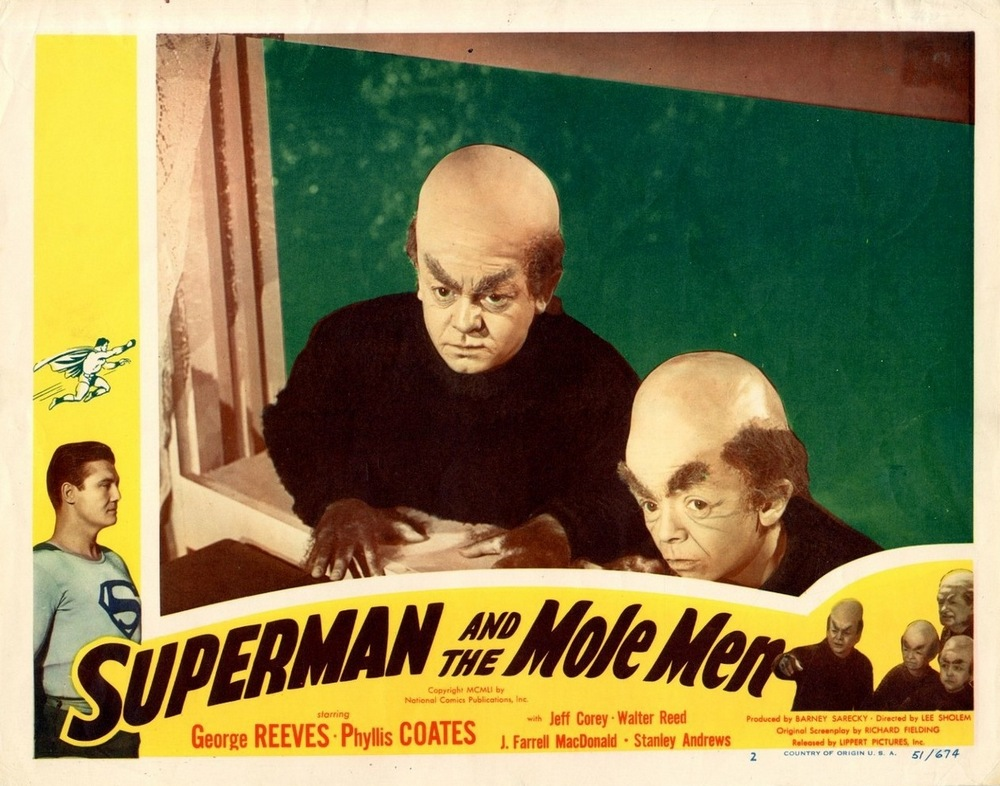 Superman And The Mole Men (1951) USA lobby card 02