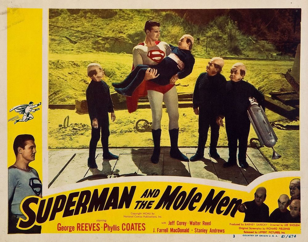 Superman And The Mole Men (1951) USA lobby card 03