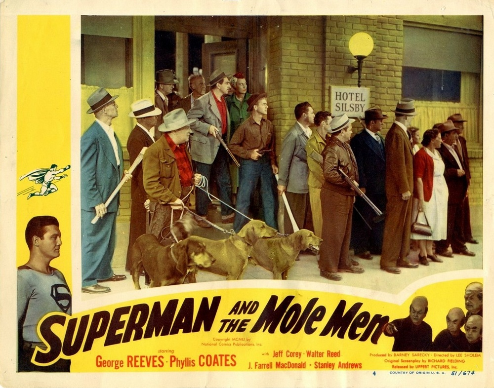 Superman And The Mole Men (1951) USA lobby card 04