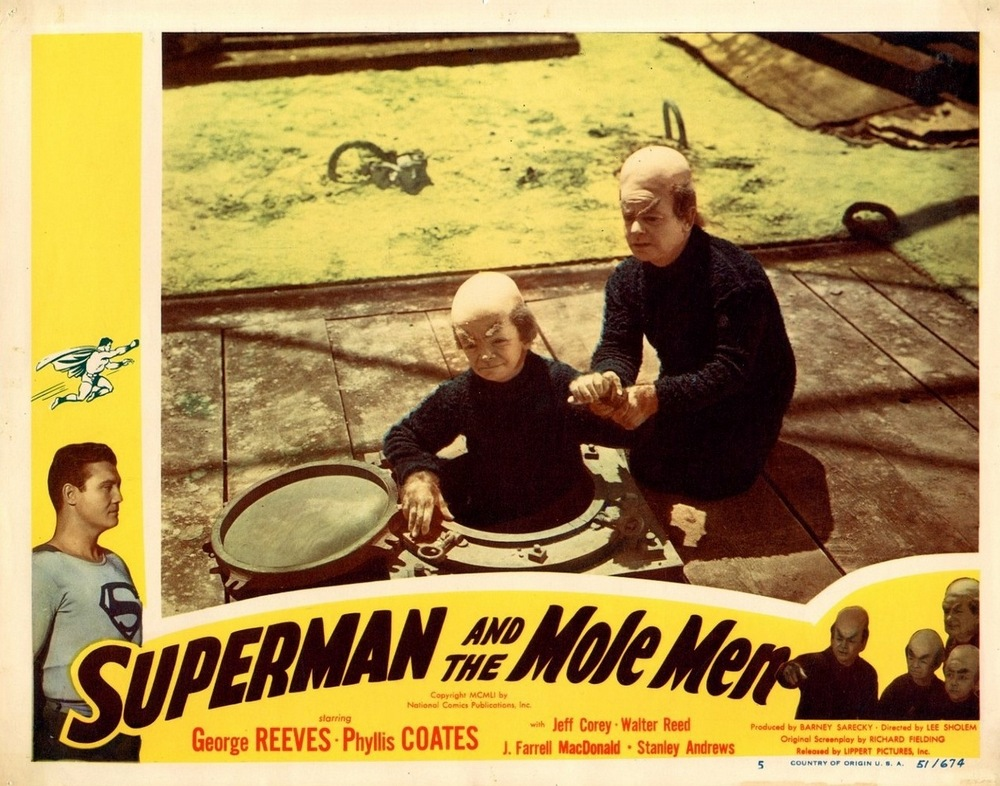 Superman And The Mole Men (1951) USA lobby card 05
