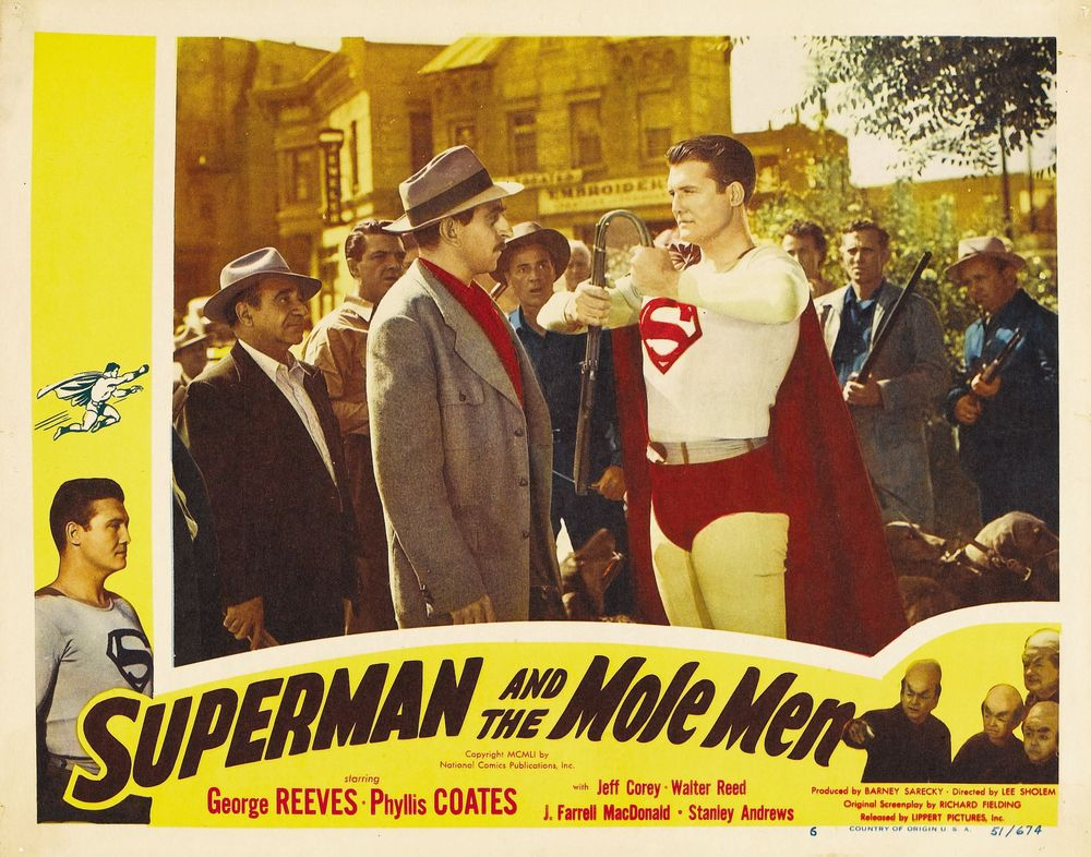 Superman And The Mole Men (1951) USA lobby card 06