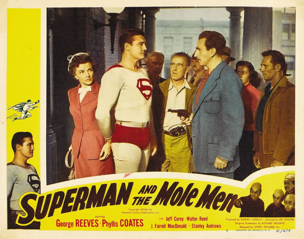 Superman And The Mole Men (1951) USA lobby card 07