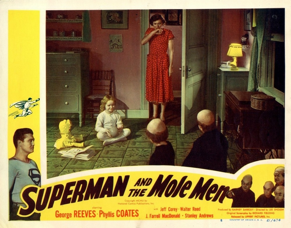 Superman And The Mole Men (1951) USA lobby card 08
