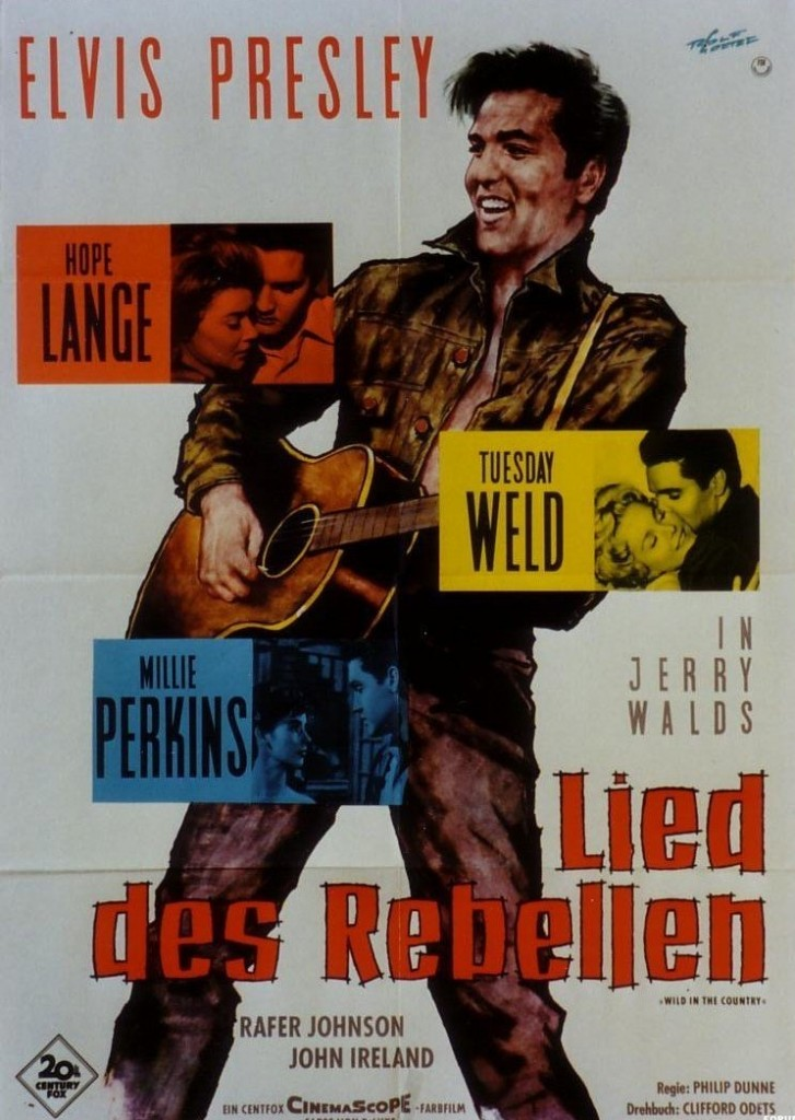 Wild In The Country - Germany poster
