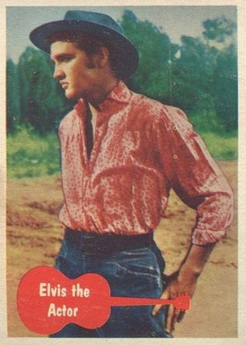 The Story Of The 1956 Elvis Bubblegum Card Set Elvis