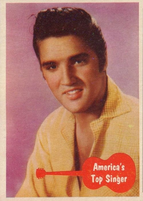 The Story Of The 1956 Elvis Bubblegum Card Set Elvis Echoes Of