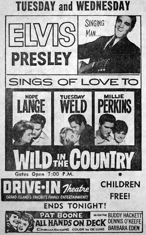 Wild In The Country - USA drive-in ad