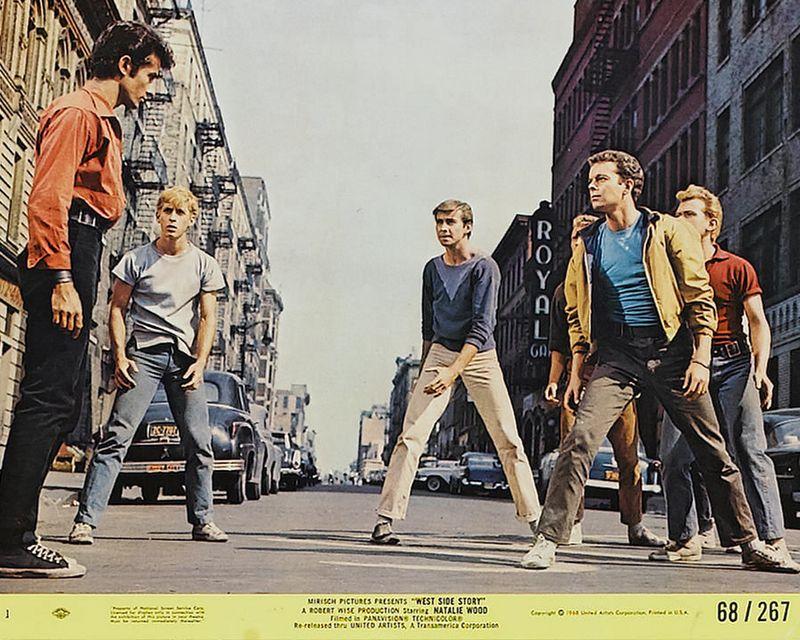 West Side Story (1968) Mini Lobby Card Set 1