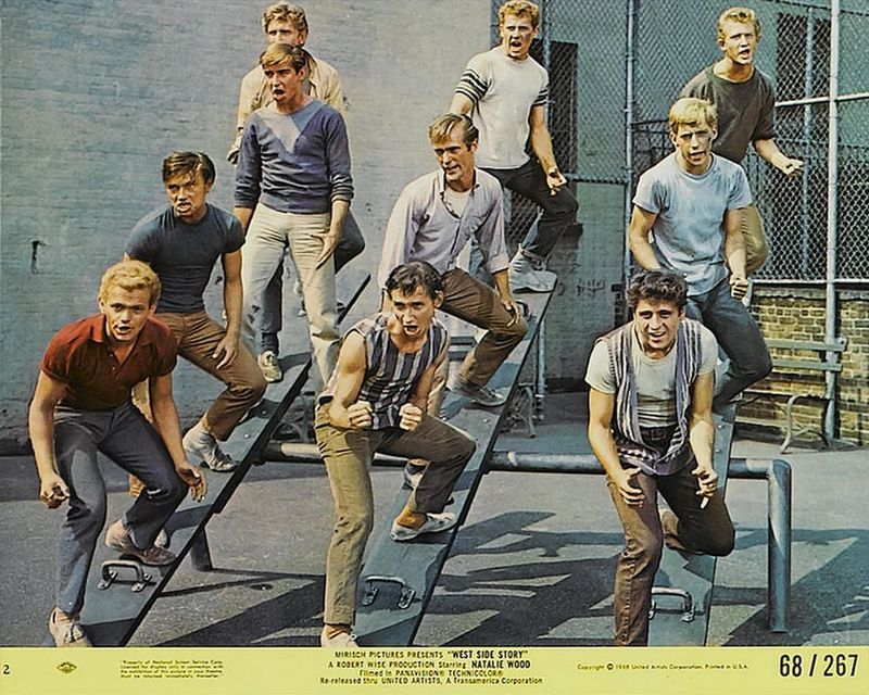 West Side Story (1968) Mini Lobby Card Set 2