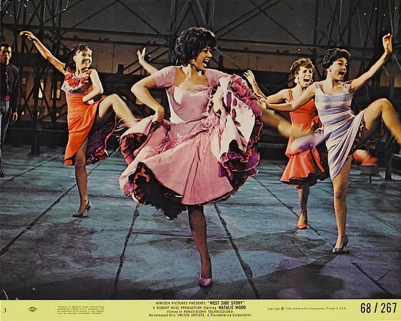 West Side Story (1968) Mini Lobby Card Set 3