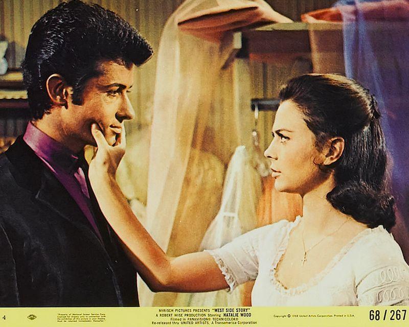 West Side Story (1968) Mini Lobby Card Set 4