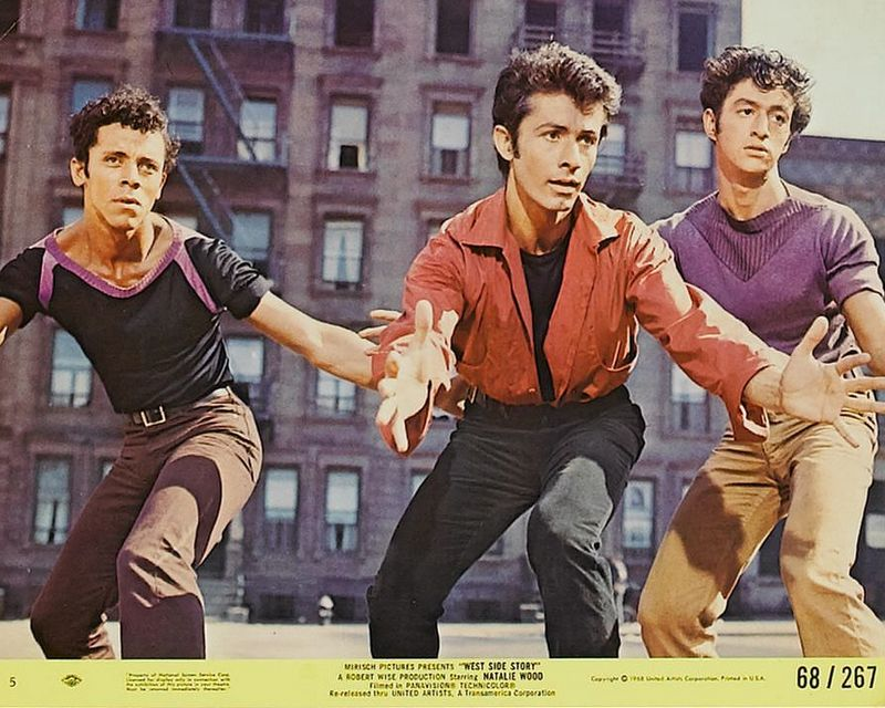 West Side Story (1968) Mini Lobby Card Set 5