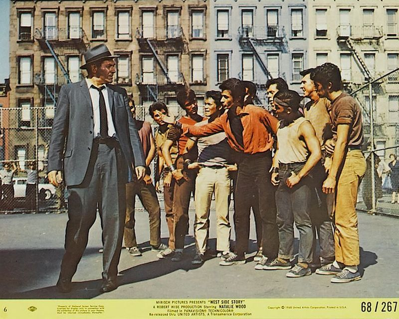 West Side Story (1968) Mini Lobby Card Set 6