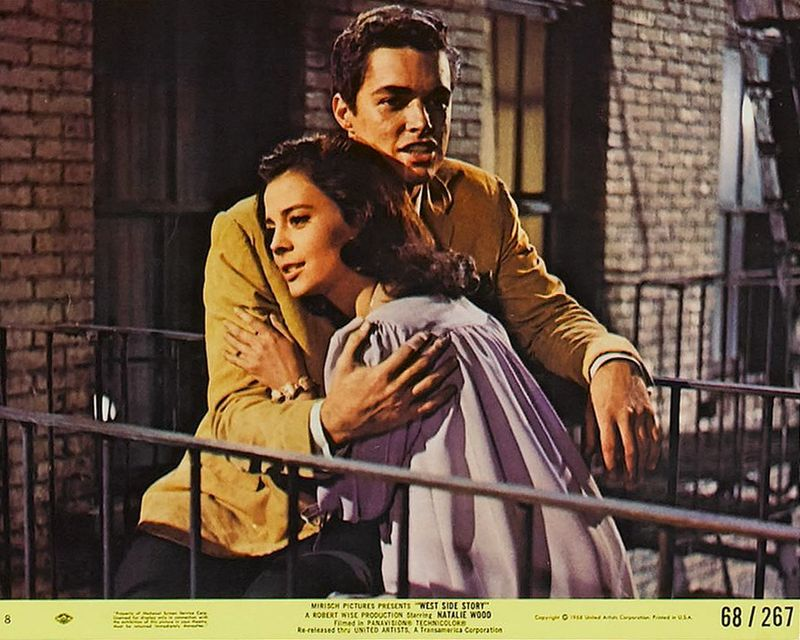 West Side Story (1968) Mini Lobby Card Set 8