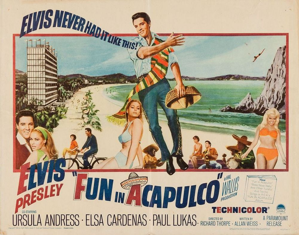 13 Fun In Acapulco - USA half-sheet