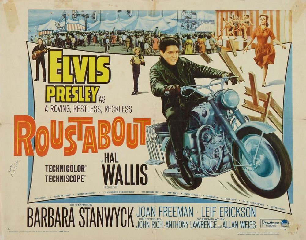 16 Roustabout - USA half-sheet